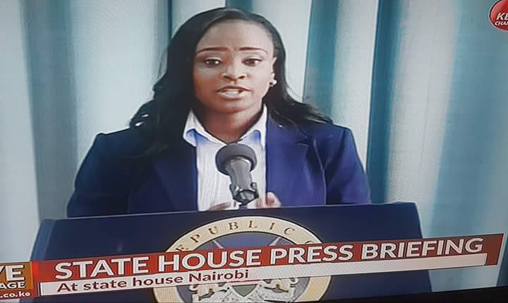 Kanze Dena lands a plump state house job,she is now State House Spokesperson and Head of the PSCU