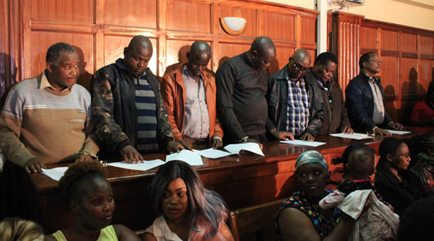 8 more NYS sandal suspects set free after paying bail