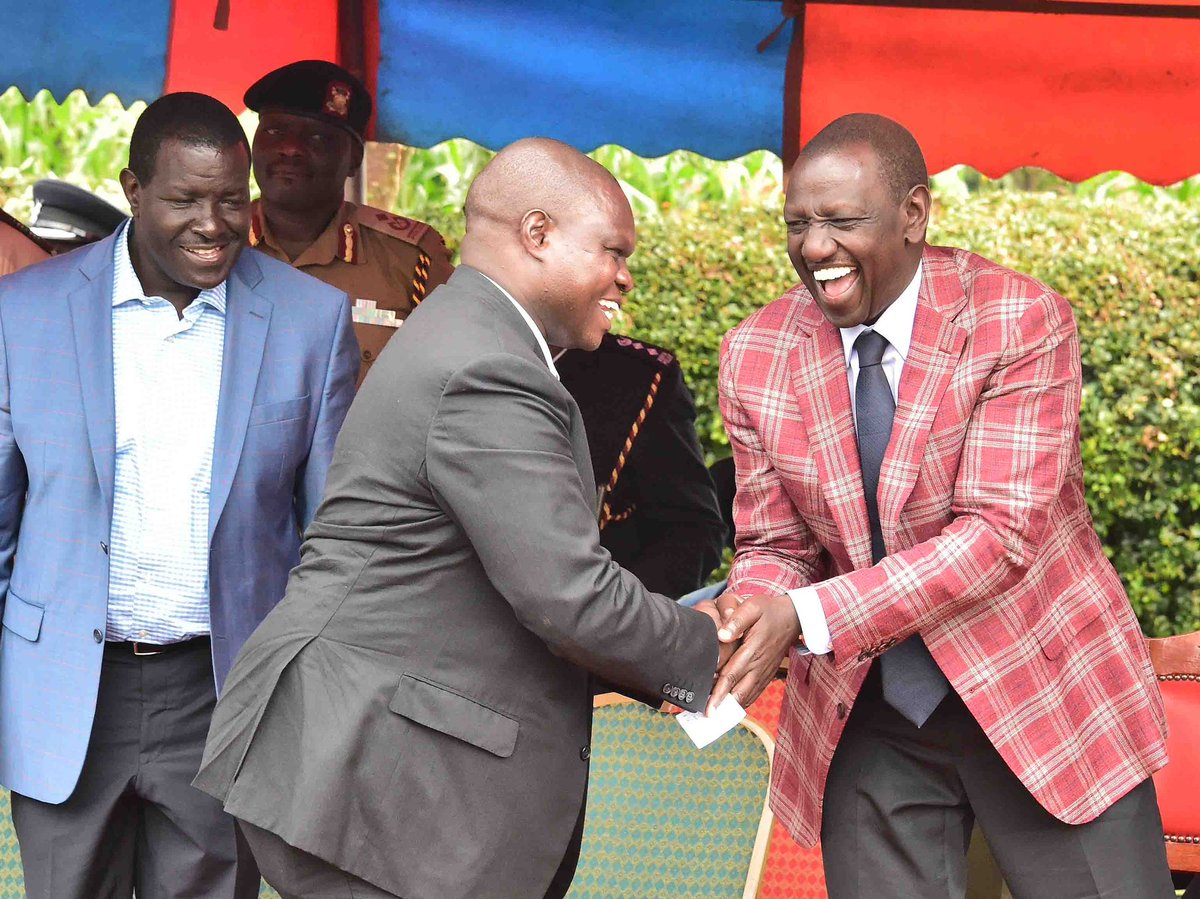 DP RUTO wants leaders to stop politicking and work for Kenyans