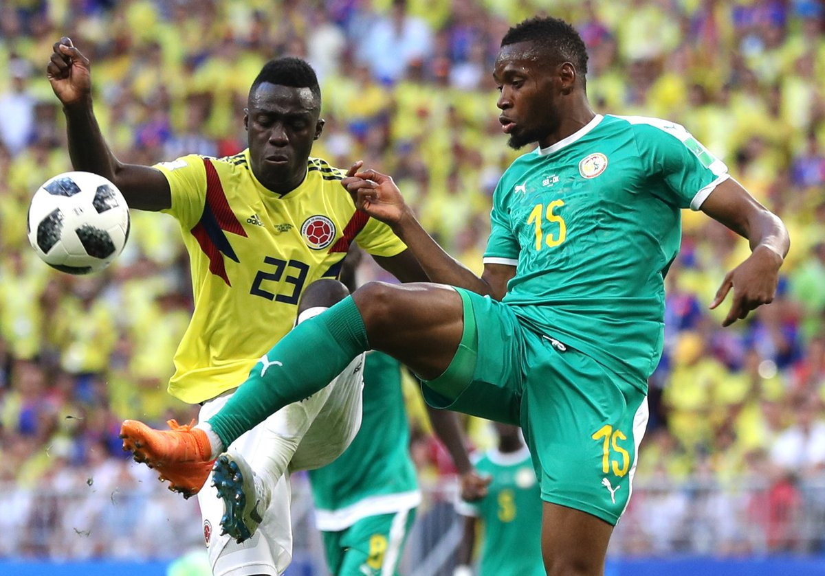 Result: Senegal  knocked out as Colombia narrowly qualifies for last 16 of the world cup with a 1-0