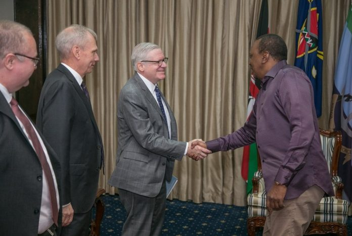 President Kenyatta meets US delegation to promote trade and investments