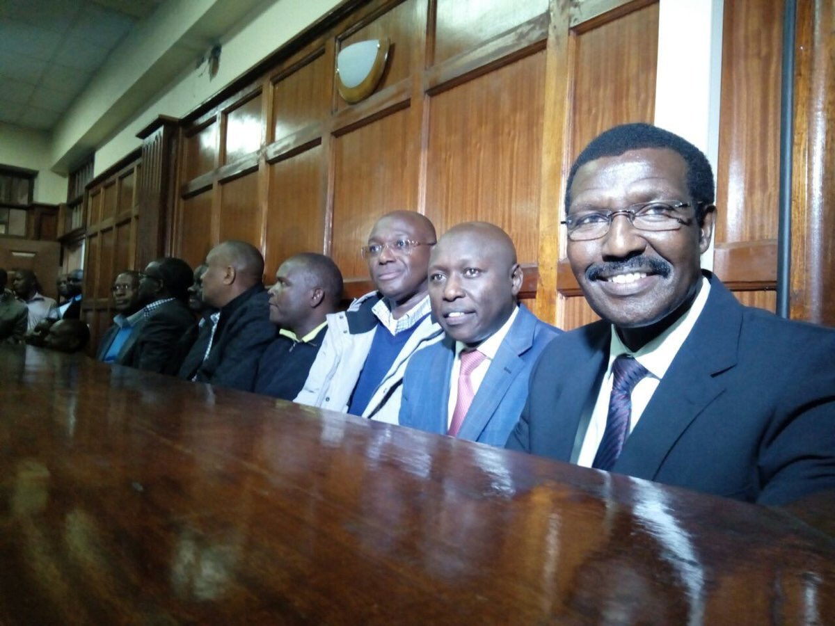 Kenya Power senior  officials  arraigned in court,deny graft charges