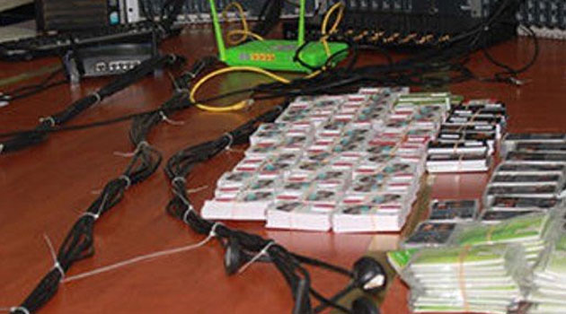 Crime Watch:Crackdown on sim card syndicate nab two suspects