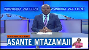 Ebru TV's swahili news  Anchor   and editor Victor Wetende announces his departure on TV