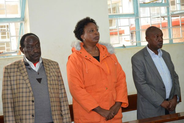 Former Nyandarua governor, two other officials released  on bond