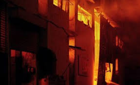 Gendia High School in Homa Bay hit by wave of school fires as a dorm is reduced to ashes