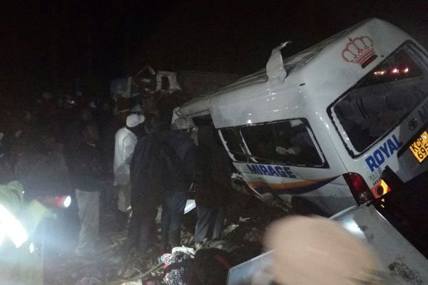 Ghost of road carnage claims 13 lives in Kericho,Kimende