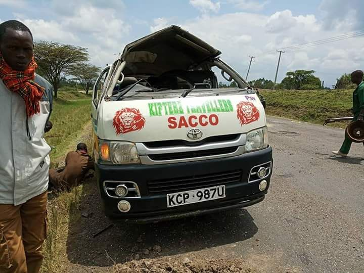 Three people die in a grisly Road accident in Bomet