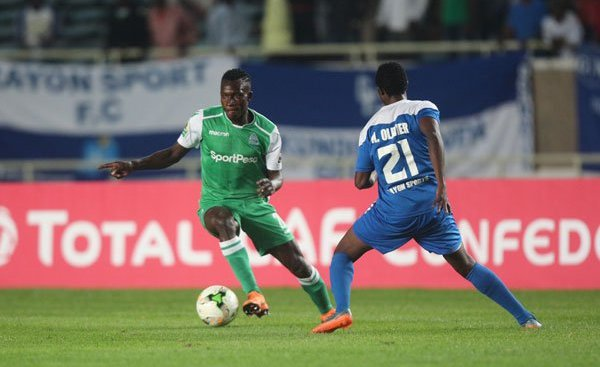Gor Mahia loses 1-2 to Rayon sports in CAF Confederations Cup
