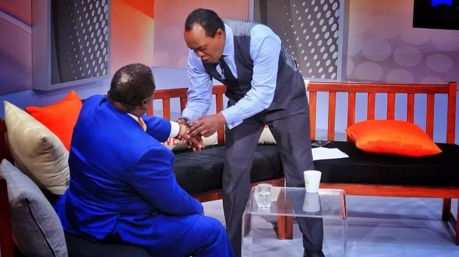 Jeff Koinange in trouble over intrusion  into COTU boss Francis Atwoli's privacy