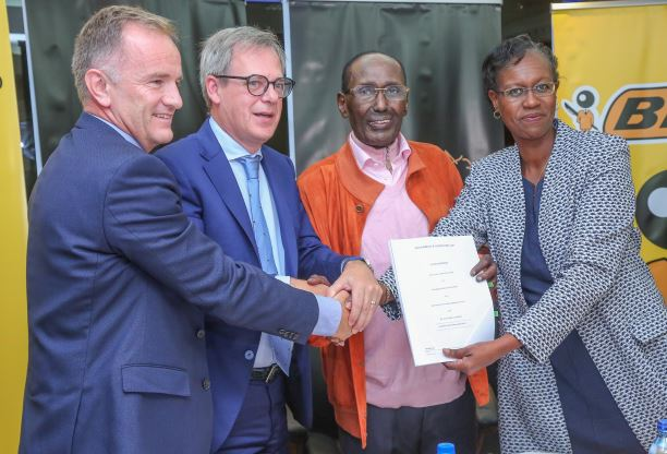 Haco Industries Kenya Ltd and Societe BIC signs an agreement for  transfer of manufacturing facilities and distribution of BIC products to SOCIETE BIC