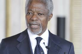Kenya mourns the demise of a peace icon Koffi Annan