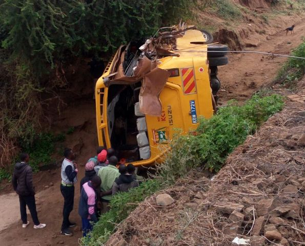Many questions linger on how 11 students of St. Gabriel Primary School died through a tragic accident involving their bus and A lorry
