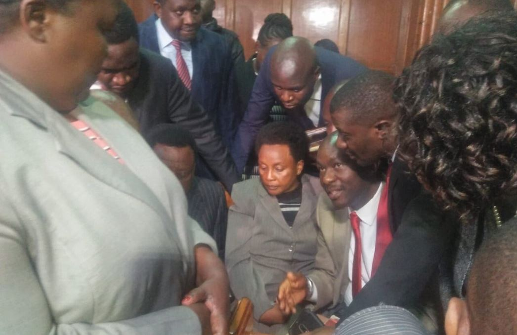 Deputy Chief Justice Mwilu arraigned in court, freed on bond