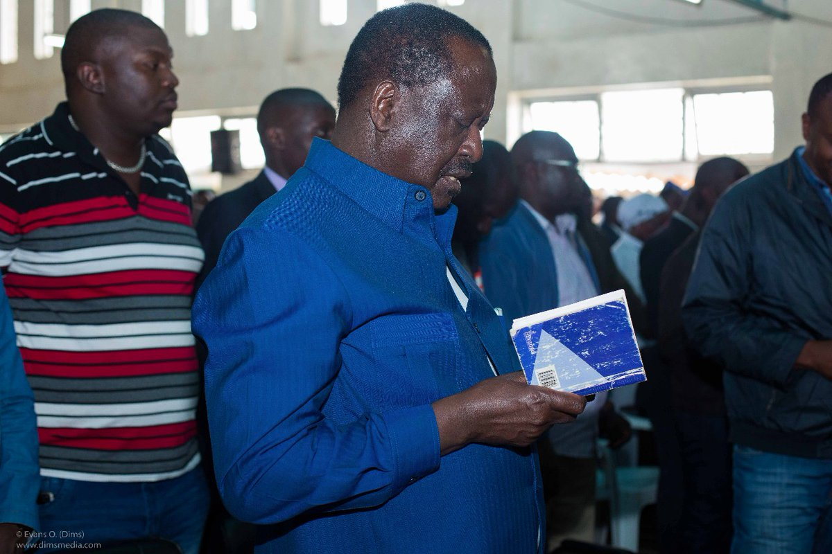 Opposition leader Raila Off to Zimbabwe for African union assignment
