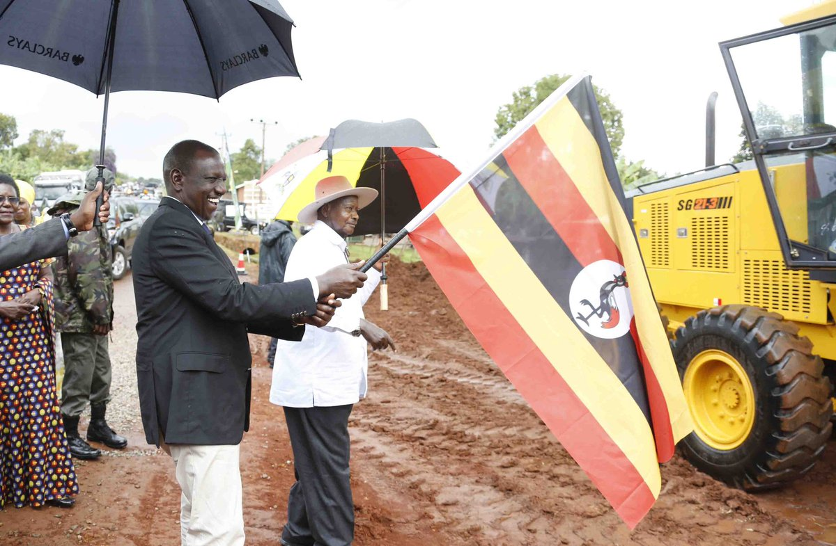 Trade between Kenya and Uganda  highlight a meeting  of DP Ruto with President Museveni at State House in Entebbe