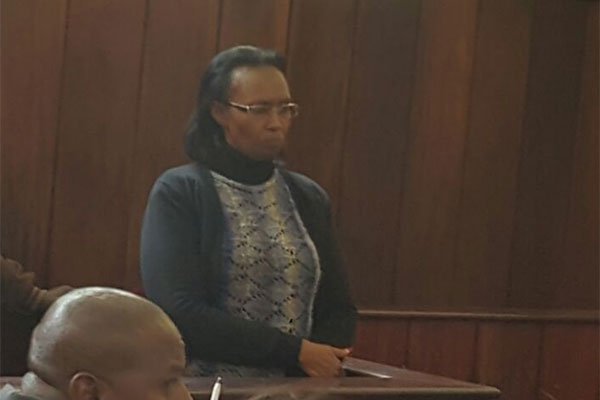Drama as governor Ferdinand Waititu's wife  Susan  is charged with illegal construction of a building in the city