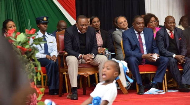 President Uhuru assures all candidates sitting this year national exams  that they  be fair and more secure