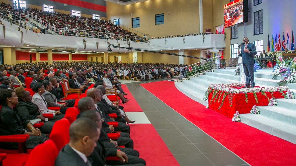 Nobody will save you not your money or power if you are corrupt-Uhuru