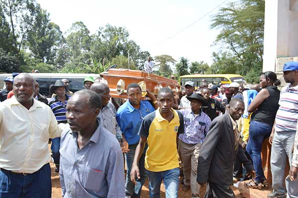 bodies mix-up at the Kiambu Level V Hospital mortuary prompts management to recall all male bodies released