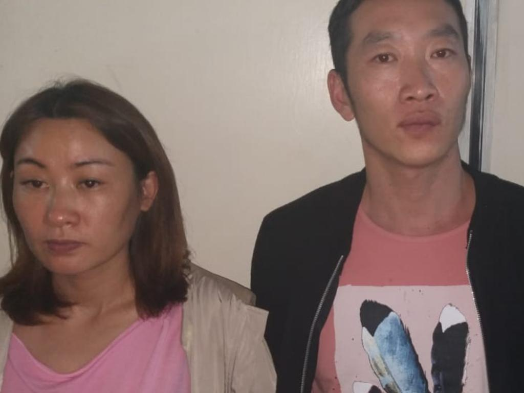 Immigration officers  arrest 15 Chinese in a brothel in South C estate  engaging in prostitution and Kenyans are not amused .