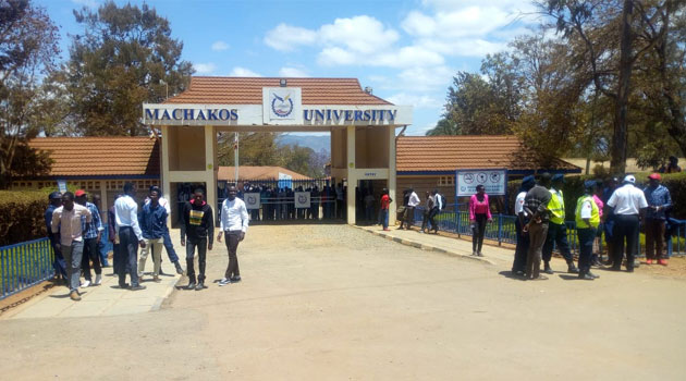 Machakos University students go on rampage,accuse management of hiking fees