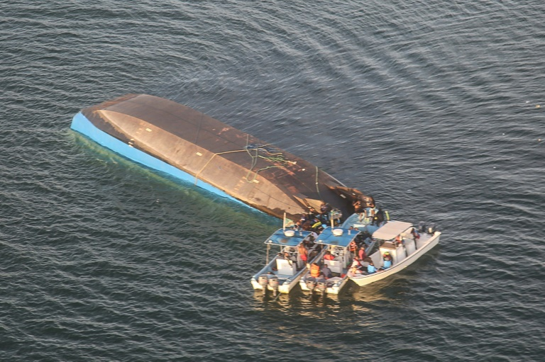 Mv Nyerere Miracle: A man rescued   two days after the Ferry Overturned