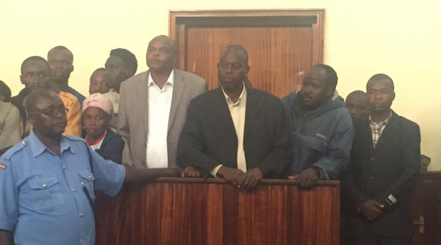 quilty  as charged :Nakuru Deputy Speaker Joshua Tonui and 4 others charged over Njoro ethnic violence