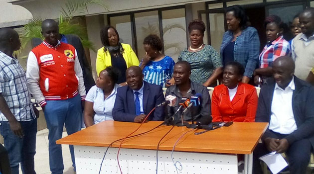 Majority leader in Nyandarua county assembly ousted by Jubilee party MCAs