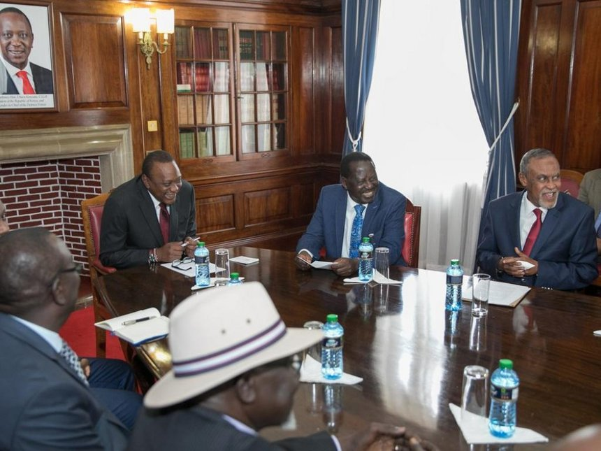 President Uhuru urges Kenyans to commit to promoting peace as international day of peace is marked