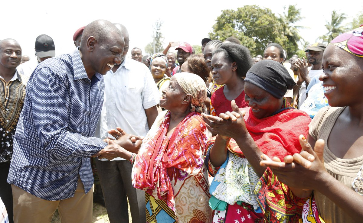 Do not hide behind the handshake deal to bring confussion into Jublee,DP Ruto tells Odinga