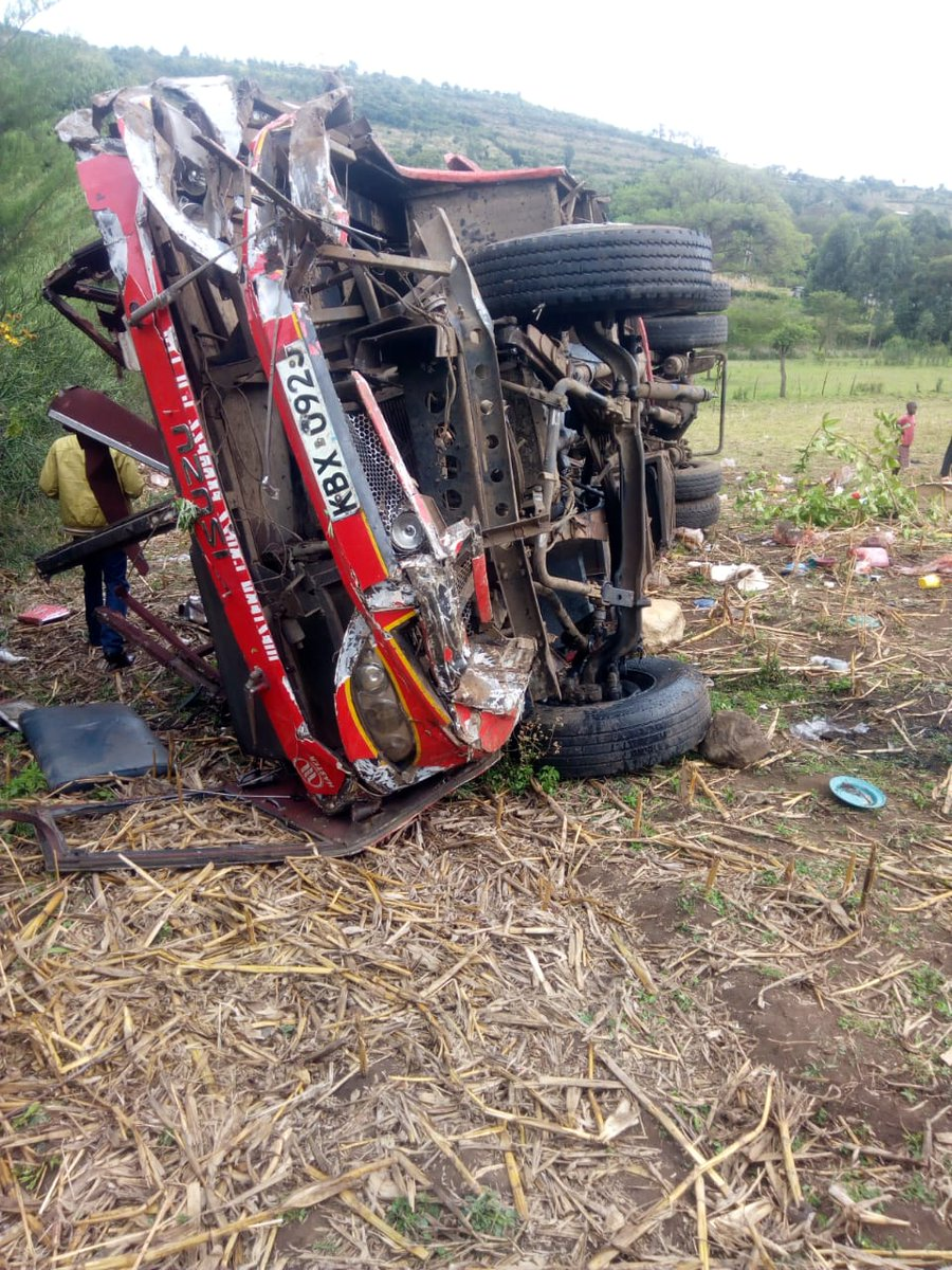 Kenyan mourns death of over 50 people who died in Kericho accident as President Uhuru leads leaders in sending condolences friends and families who lost their loved ones