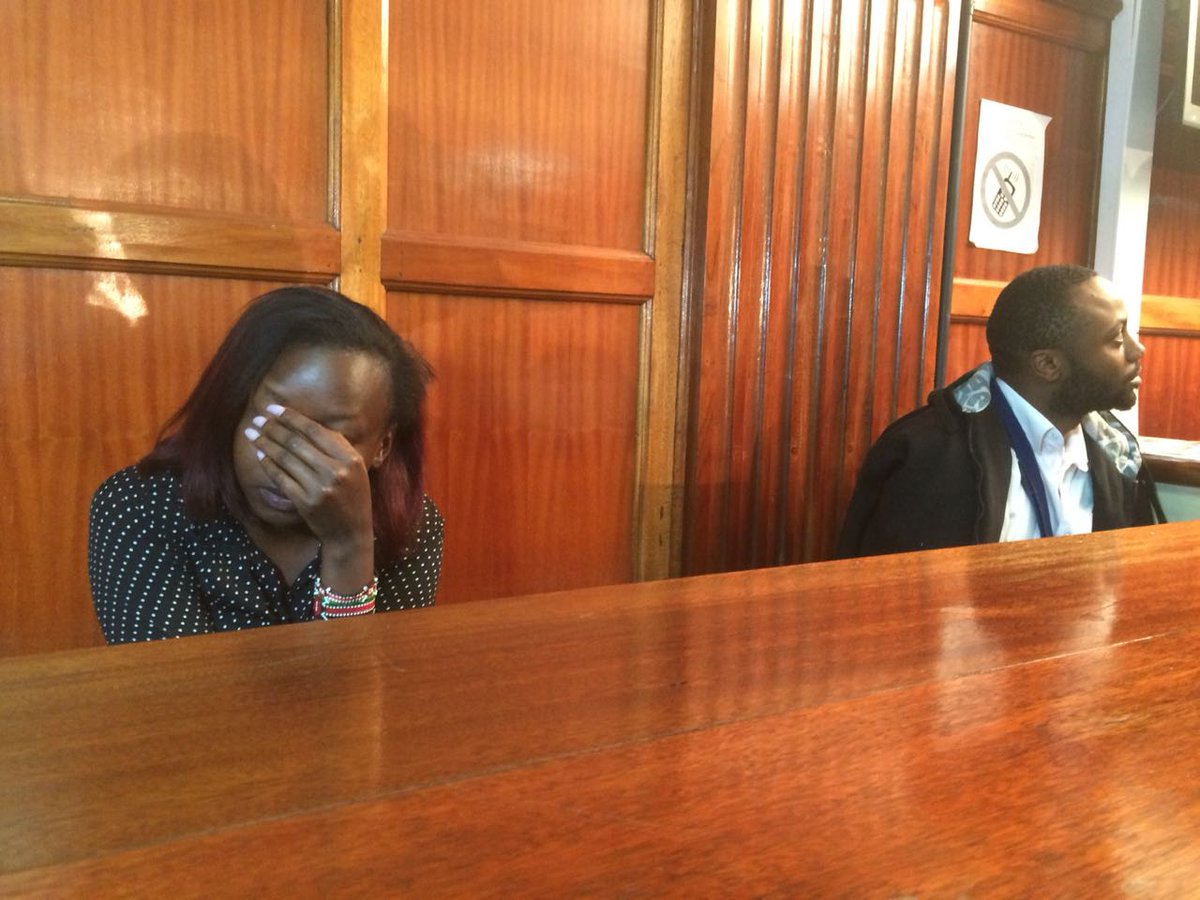 Maribe,Jowie to be remanded until Monday next week as Maribe undergoes Mental assessment