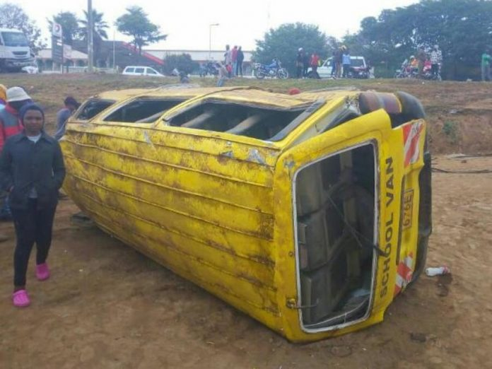 A pupil dies following an accident involving their school bus in Narok.