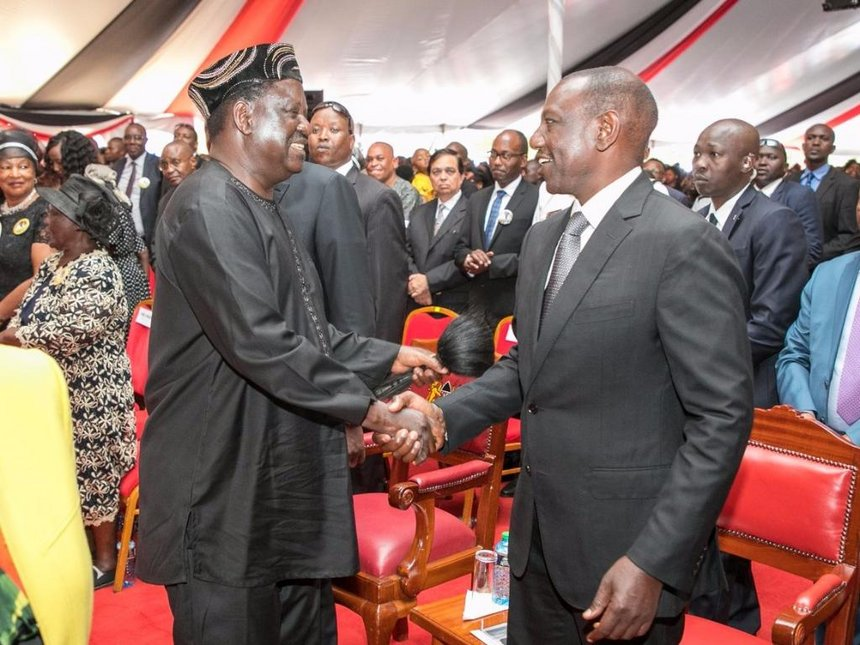 It is a heroic send off for Music Lengendary Joseph Kamaru as top leaders attend fete