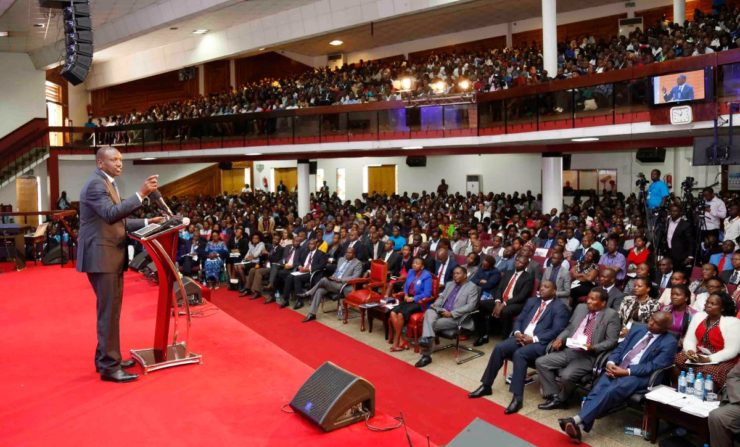 The government shall not relent on fighting graft -DP Ruto