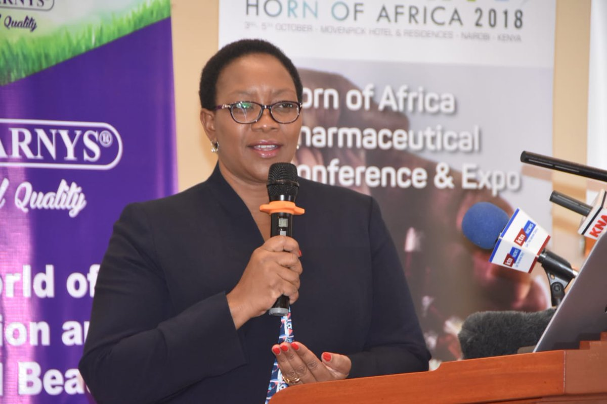 Crackdown on illegal chemists to continue-Health CS  Sicily Karuiki