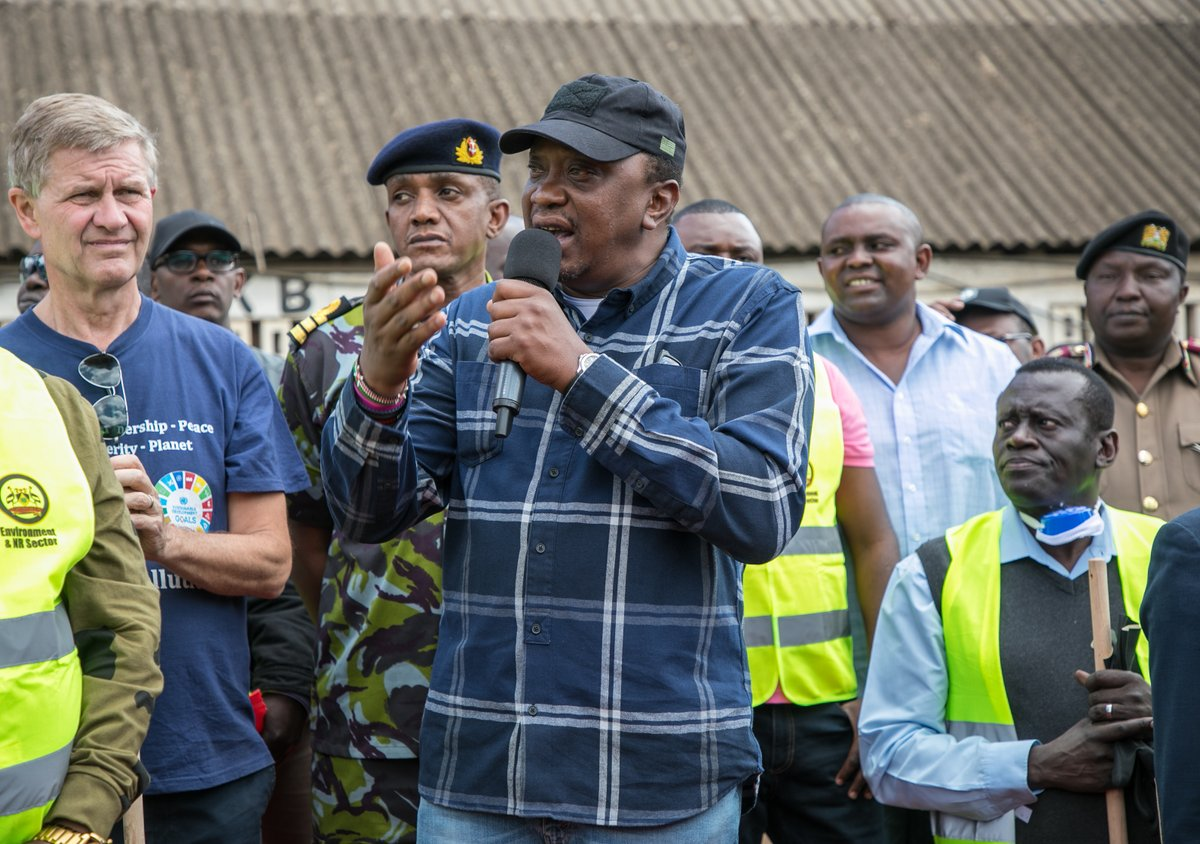 Put to an end your politicking until 2022 and focus on developing the Nation,president Uhuru tells political leaders