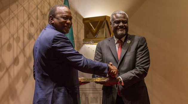 AU honours Uhuru for world's first Sustainable Blue Economy Conference