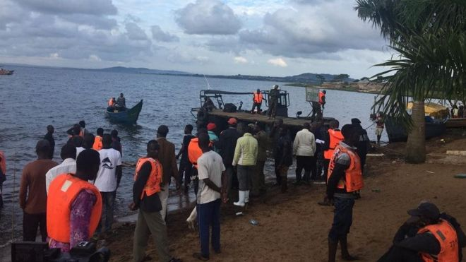Hope of finding  more bodies in Uganda boat  tragedy dwindles even as over 40 bodies remain uncounted for