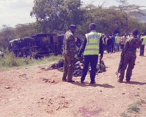 Salama accident leaves three soldiers dead,several injured