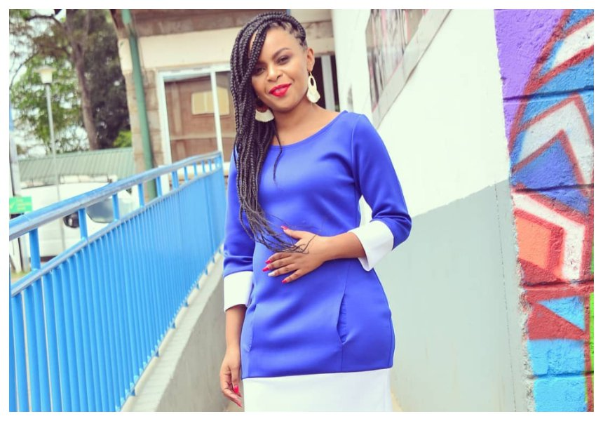 Gospel singer Size 8 is pregnant and very proud!!
