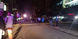 Police yet to arrest suspects behind an explosion that injured 2 people on Latema Road in Nairobi on Saturday