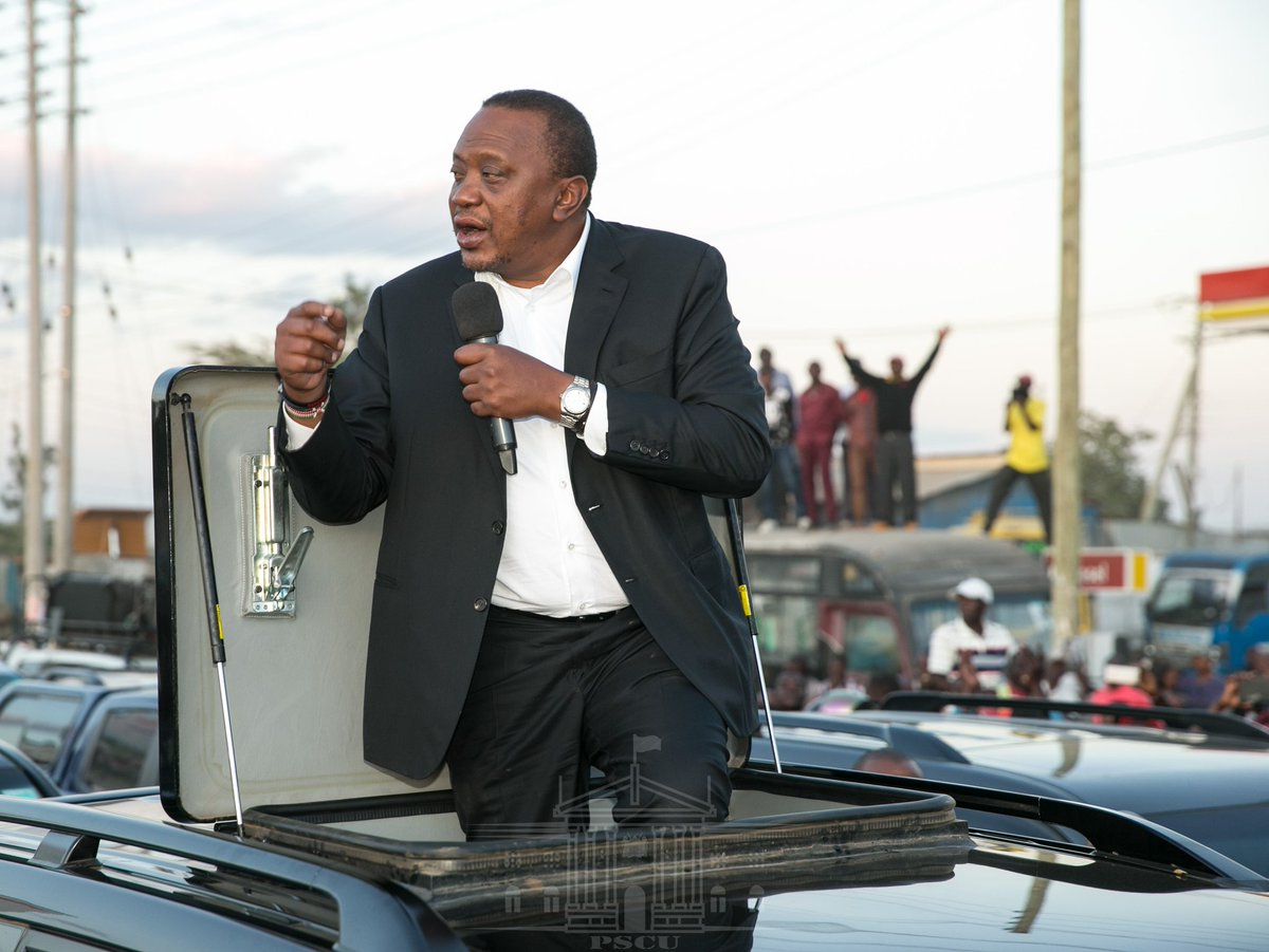 Continue politicking and you will go home,President Uhuru warns  cabinet secretaries
