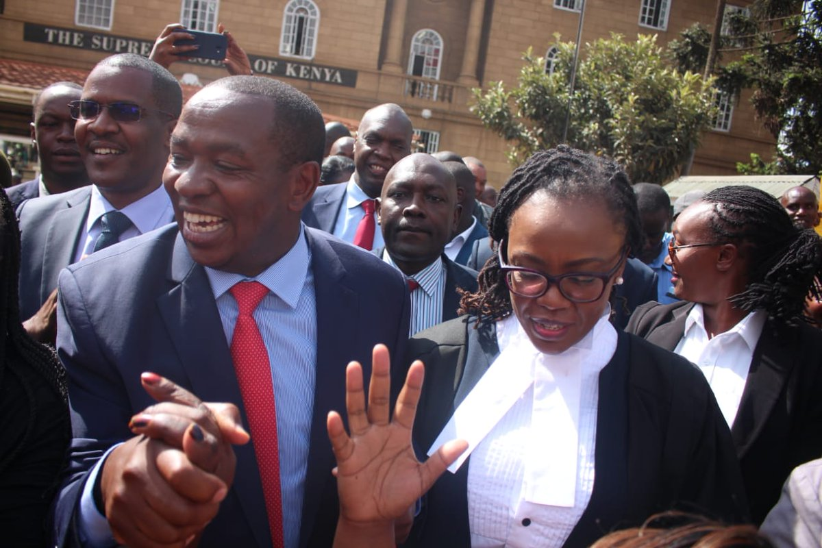 Victory for Governor Ndiritu Muriithi as supreme court upholds his election