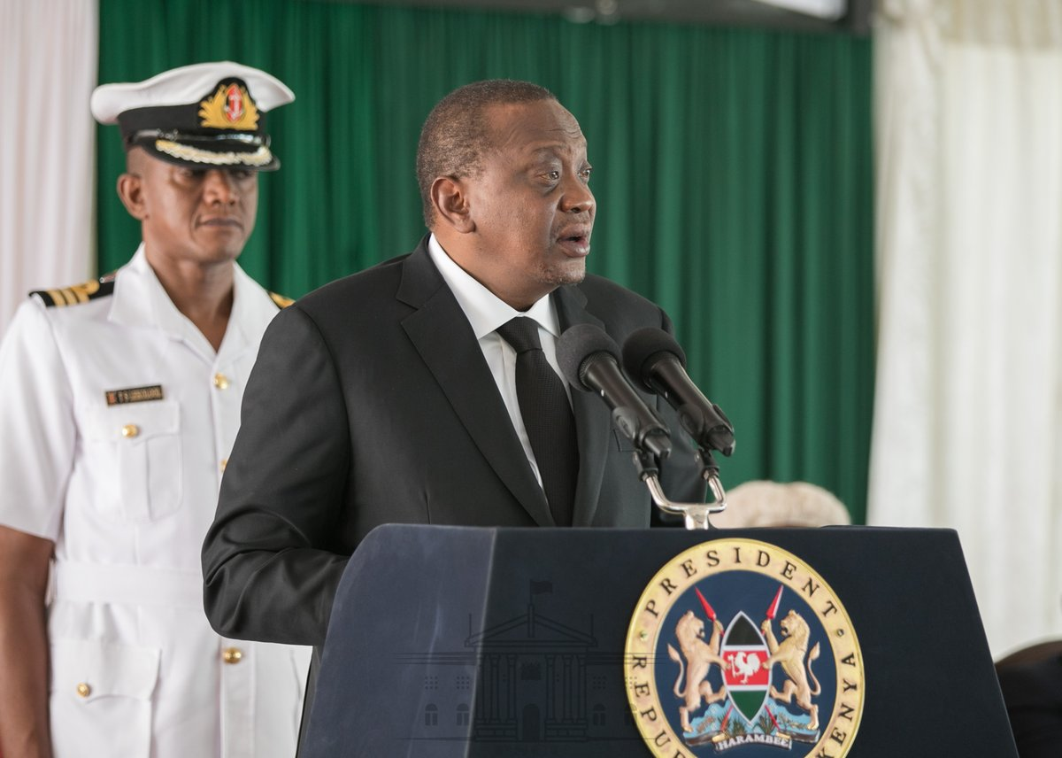 We are on the right track to win war on graft-Uhuru