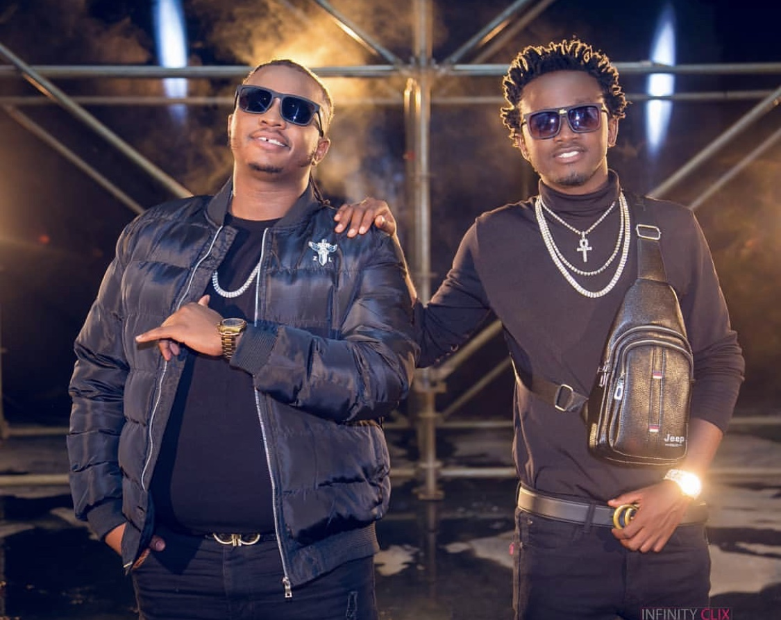 Bahati and DK kwenye Beat on the receiving end after dropping new song