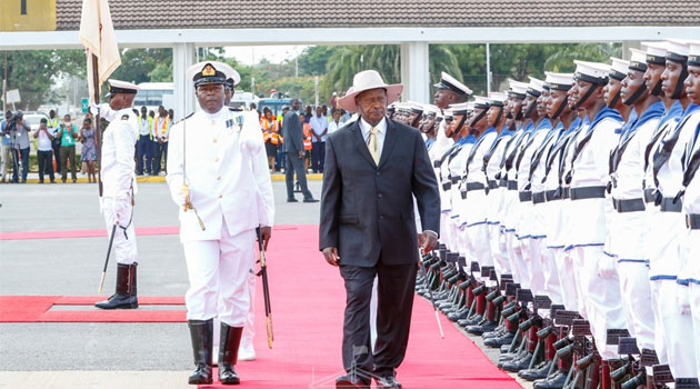 Ugandan president Museveni to become first visiting President to travel on train via  SGR From Mombasa