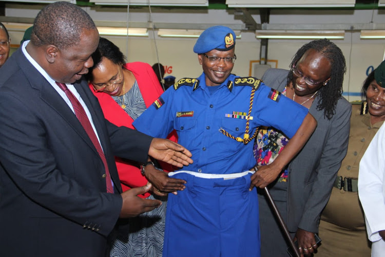Interior CS Fred Matiangi say State has saved over Sh700m in making police uniforms locally