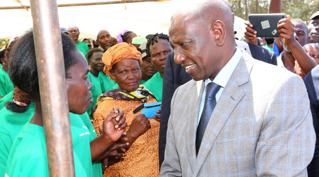 Do not hide behind the handshake to undermine other leaders,DP Ruto tells the opposition